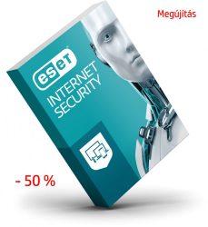 ESET Internet Security megújítás 50% kedvezménnyel diákoknak, egészségügyi dolgozóknak, pedagógusoknak, nyugdíjasoknak